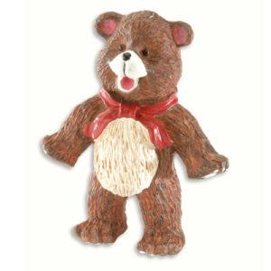 Knott til barnerommet i kunststoff. Figur: bamse.