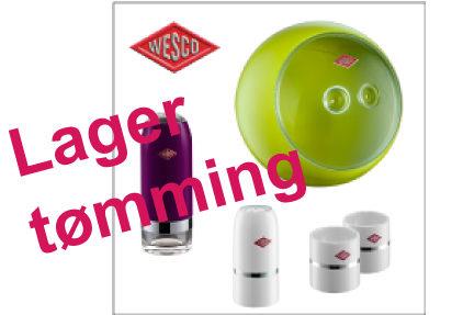 Lagertømming WESCO kjøkkenartikler